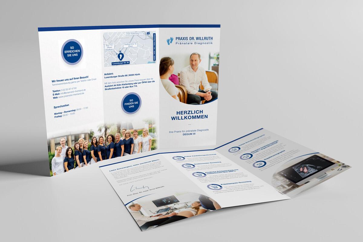 Praxis Dr. Willruth | Printdesign