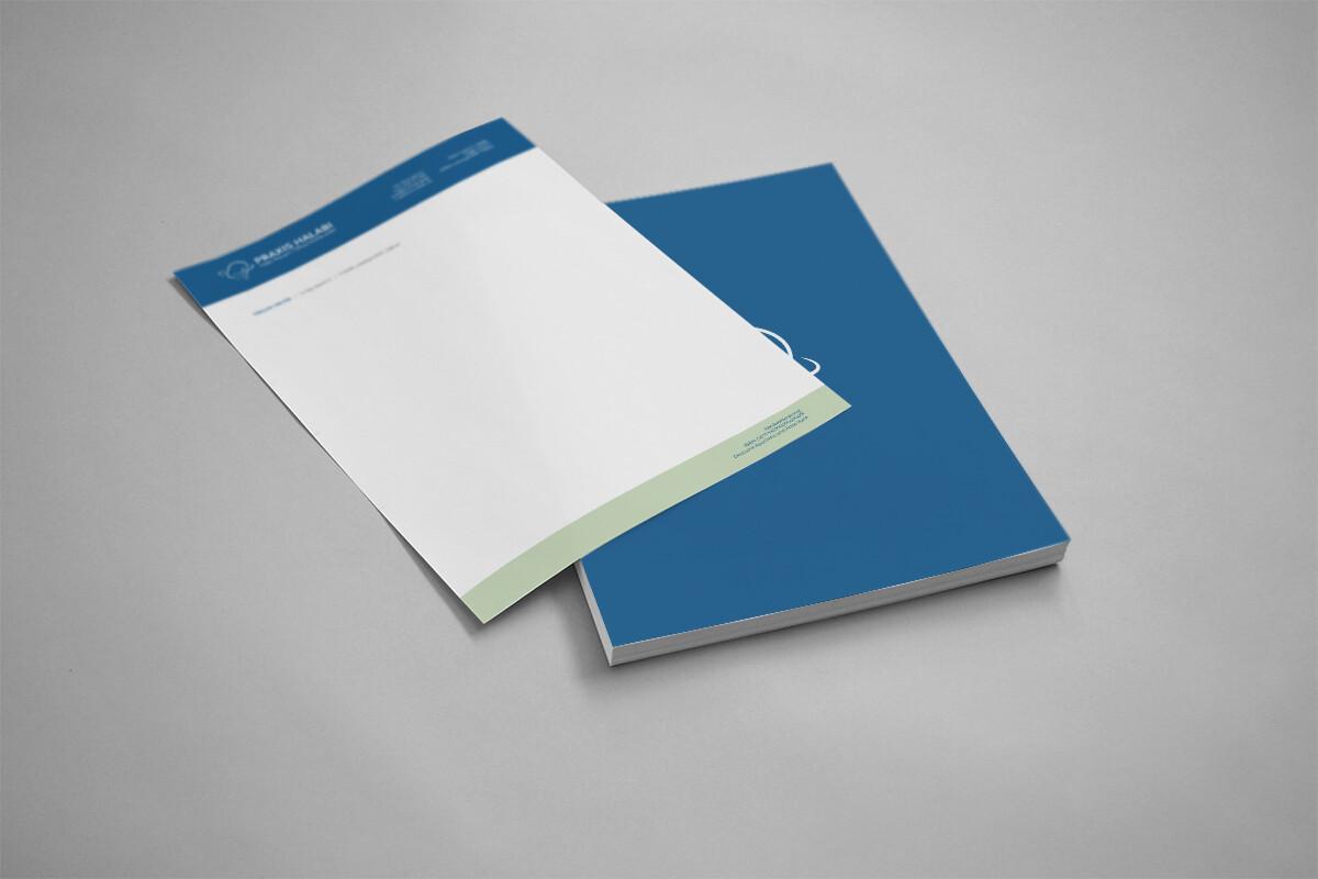 HNO Halabi Briefpapier