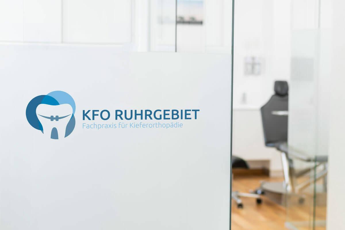 KFO Ruhrgebiet Praxisschilder