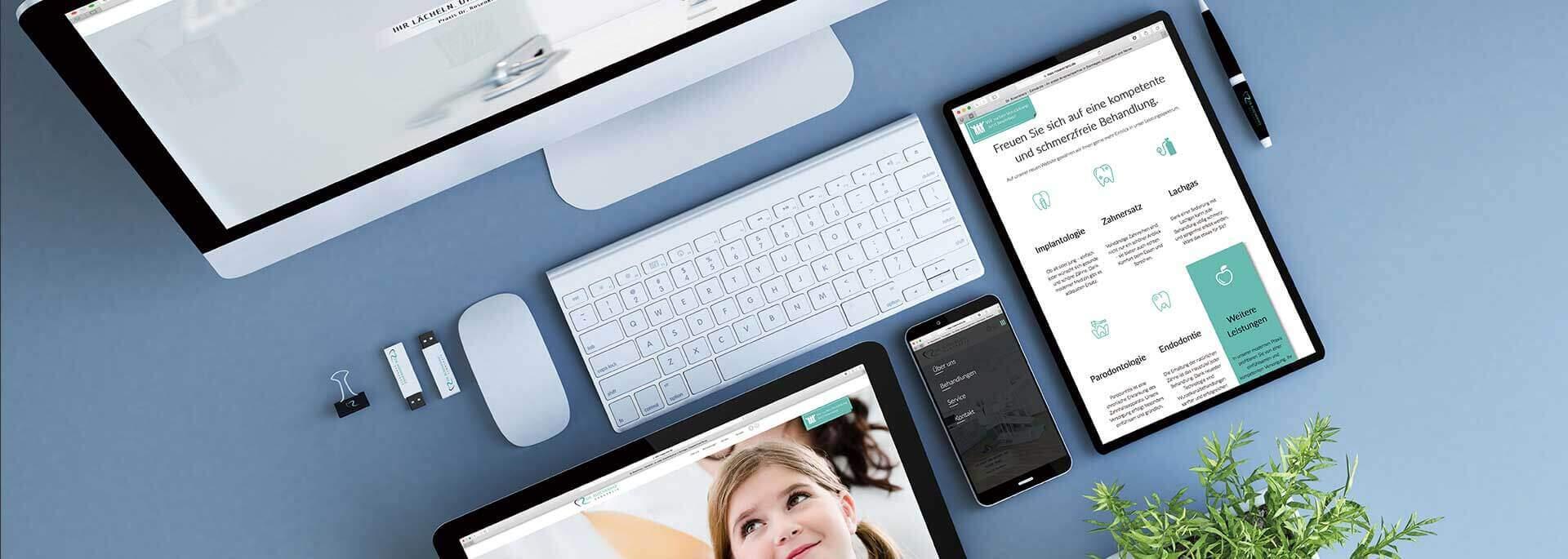 Webdesign für Ärzte - damit Sie in Führungsposition bleiben