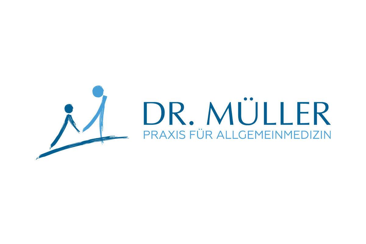 Logodesign und Praxislogo für Praxis Dr. Müller